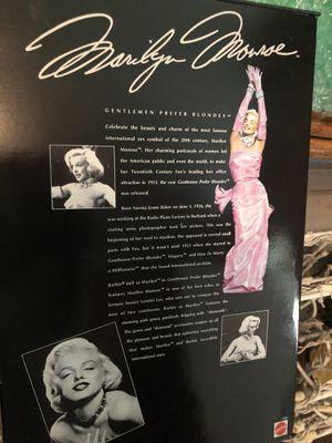 Marilyn Monroe Barbie for Sale in Dallas, TX