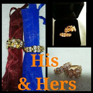 His & Hers 14k Ring Set w/Gift Box for Sale in Eugene, OR