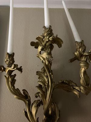Vintage Bronze Candelabra for Sale in North Hollywood, CA