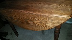 Antique Oak dining table for Sale in Lakewood, CO