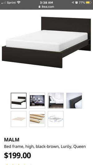 Queen bed frame for Sale in Bethesda, MD