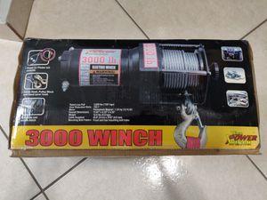 3,000 Lb Power Winch for Sale in Carol City, FL