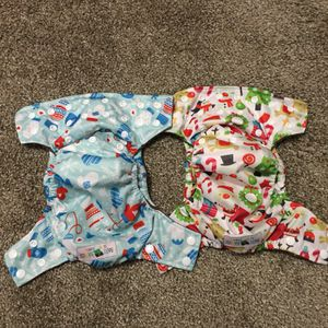 AIO cloth diapers (size newborn fits up to 15lbs) for Sale in Naperville, IL