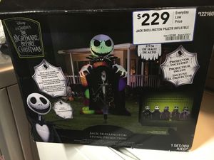 The nightmare before Christmas jack skellington for Sale in Riverside, CA