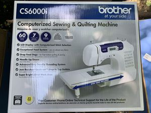 Brother CS6000i Sewing Machine BRAND NEW for Sale in Yonkers, NY