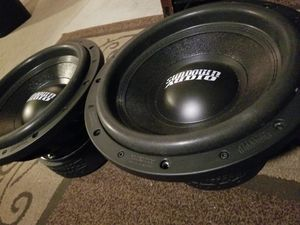 2 12s sundown audio sa 12 v.2 for Sale in Mesa, AZ
