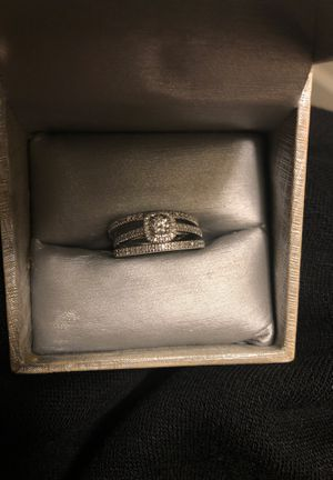 3 piece wedding band set for Sale in Lacey, WA
