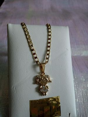 Gold plated chain for mom or girl for Sale in Elk Grove Village, IL