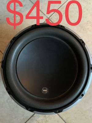 JL AUDIO W6 12 in subwoofer like new for Sale in Ceres, CA