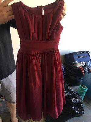 Girls flower girls dress size 8 for Sale in Riverside, CA