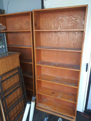 2 bookshelves for Sale in Denver, CO