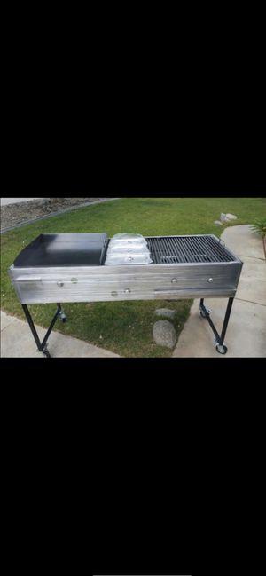 Bbq grill/ asador de gas heavy duty/ comal / vano maaria i asador for Sale in Long Beach, CA