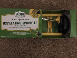 New 3,400 sq. ft. Oscillating Sprinkler for Sale in Norfolk, VA