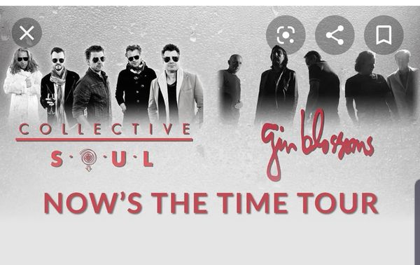 Collective soul and the Gin blossoms tickets