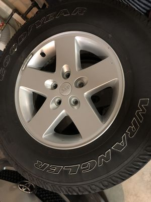 Jeep Wrangler wheels/tires for Sale in Federal Way, WA
