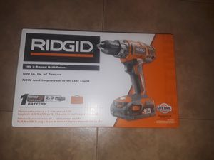 Ridgid drill for Sale in Los Angeles, CA