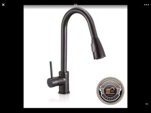 "16"" Oil-Rubbed-Bronze-Pull-Down-Kitchen or Bar-Sink-Faucet ..... CHECK OUT MY PAGE FOR MORE ITEMS for Sale in Baltimore, MD"