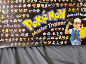 Pokemon Master Trainer Board Game for Sale in Westerville,  OH