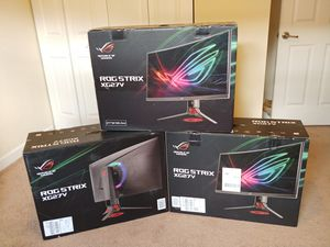 Gaming Monitor Asus ROG 1080p 144hz 1ms for Sale in Miami, FL