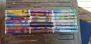 DISNEY VHS Collection (Bambi, Lion King, 101 Dalmations) for Sale in Redwood City, CA