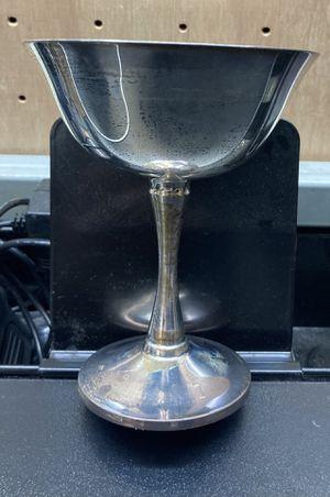 Silver plate chalice for Sale in Haysville, KS