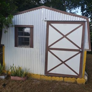 Storage shed pick up only 10x10 5 yrs old price negotiable for Sale in BVL, FL