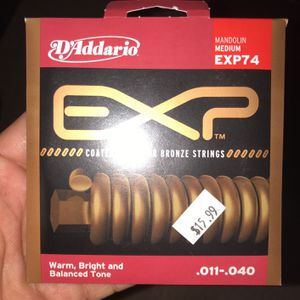 D'Addario Mandolin Medium EXP74 for Sale in National City, CA