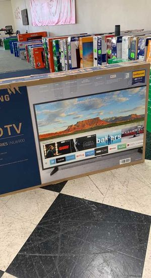 Samsung TV television is brand new with one year warranty!! Open Box! 50 inch JWZ Z for Sale in Georgetown, TX