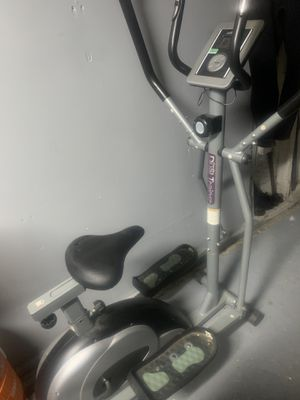 Elliptical and exercise bike dual trainer. for Sale in Norwalk, CA