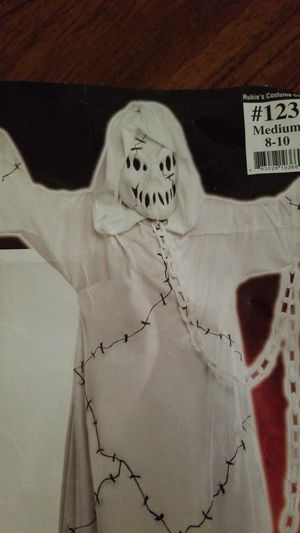Ghost, Ghoul Halloween costume kids M 8-10 for Sale in Columbia, MD