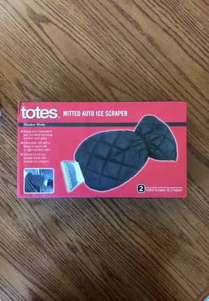 Totes mitted auto ice scraper - New for Sale in Appleton, WI