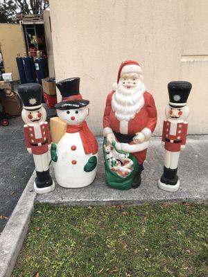 Blow mold Vintage Santa for Sale in Deerfield Beach, FL