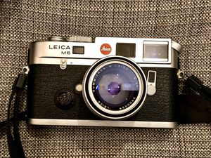 Leica M6 ttl .58 rangefinder camera (body only) chrome for Sale in Los Angeles, CA