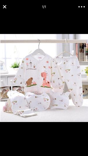 5 PIECES BABY CLOTHING SET - BRAND NEW for Sale in Jersey City, NJ
