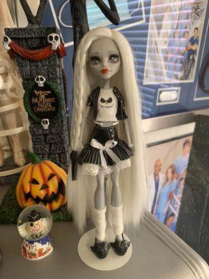 Nightmare Before Christmas Jack custom made repainted monster high doll Disney for Sale in Las Vegas, NV