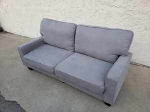 Small compact couch sofa great condition for Sale in Montclair, CA