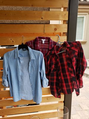 Flannel and fancy kids clothes for Sale in Fullerton, CA