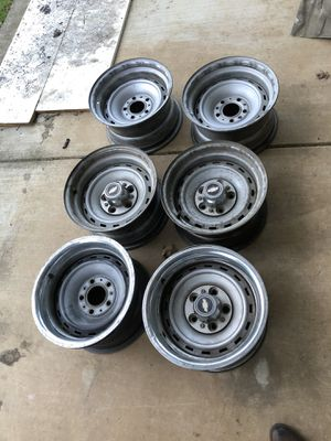 "6x 15x8"" c10 wheels for Sale in Dixon, CA"