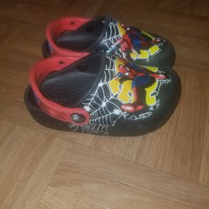 Toddler spiderman crocs for Sale in Aspen Hill, MD
