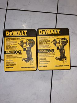 Dewalt 20v MAX XR brushless .3/8 Compact Impact Wrench (tool Only .solo Herramienta )…$110 Each One .cada Uno Price Firm  for Sale in Anaheim, CA