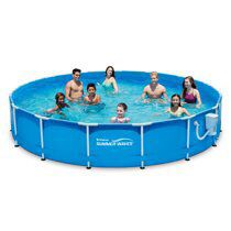 Summer Waves® 15ft Active Metal Frame Pool with 600 GPH Filter Pump for Sale in Austin, TX