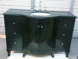 Beautiful real wood bathroom vanity with granite countertop for Sale in Puyallup, WA