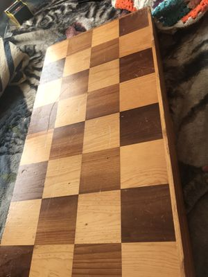 Wooden large chess set for Sale in Louisville, KY