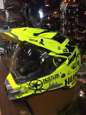 New dual sport adventure dot off road dirt bike motorcycle helmet $140 for Sale in Whittier, CA