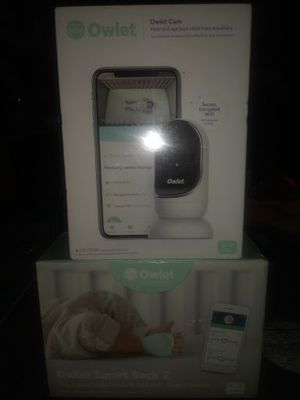 baby monitor system ever to track your baby's heart rate and oxygen levels while streaming video and audio to your phone. for Sale in Auburn, WA