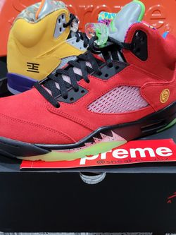 JORDAN 5 'WHAT THE 5's' 100% AUTHENTIC 🔥🔥🔥 for Sale in Bloomington,  CA