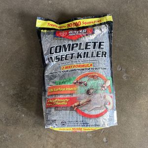Bayer Advanced Complete Insect Killer For Soil & Turf Multiple Insects Granules for Sale in Beaumont, CA
