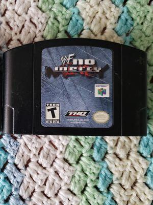 WWF no mercy Nintendo n64 game for Sale in Marysville, WA