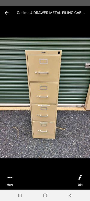 4-DRAWER FILE CABINET for Sale in Bel Air, MD
