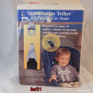 Evenflo Stabilization Tether for Toddler Car Seats. Condition is New. for Sale in Linwood, NJ